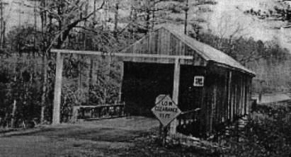 Auchumpkee Creek Covered Bridge 1950