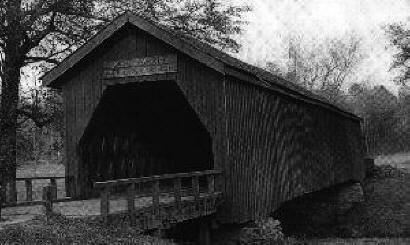 Auchumpkee Creek Covered Bridge 1960